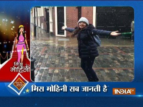 Drashti Dhami is enjoying snowfall in London
