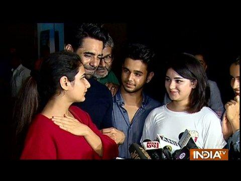 Bollywood celebs attend special screening of Aamir Khan's Secret Superstar