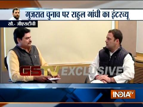 Modi ji only talks about himself or Congress, says Rahul Gandhi in an interview