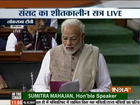 Winter session of the parliament begins, PM Modi introduces new members to the parliament