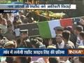 Mortal remains of martyr Jayadrath Singh brought to his village in Saharanpur