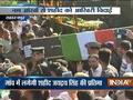 शहीद जयद्रथ सिंह का पार्थिव शरीर उनके पैतृक गांव सहारनपुर लाया गया