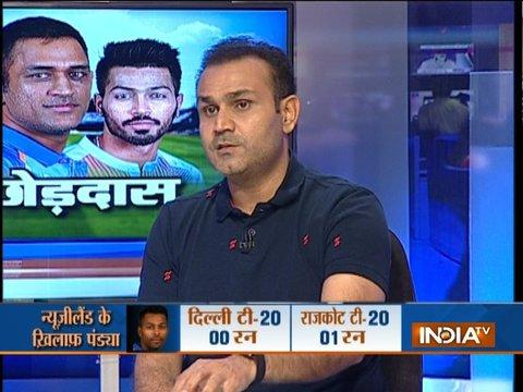 MS Dhoni will never block the way for any youngster: Virender Sehwag to India TV