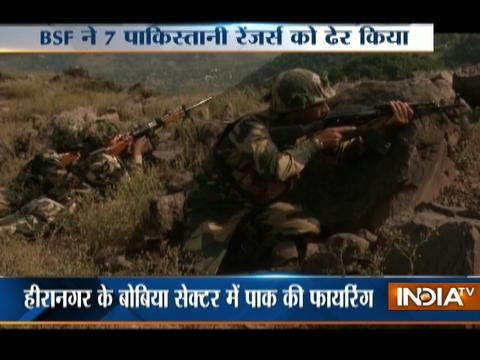 7 Pakistani rangers, one militant killed in BSF retaliation to ceasefire