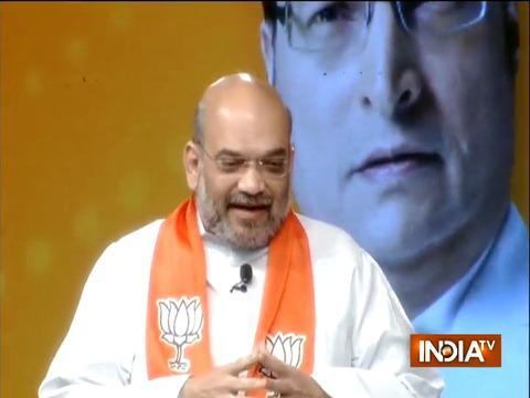 I won't comment against Rahul Gandhi's remark, says Amit Shah   Chunav Manch
