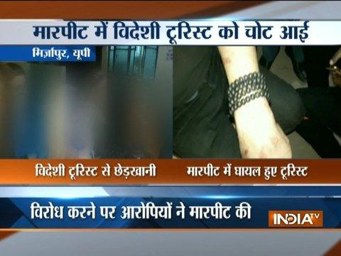 Foreign tourists molested in Mirzapur, police arrest 3 people