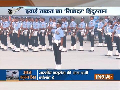 Grand celebrations underway to mark 85th anniversary of Indian Air Force