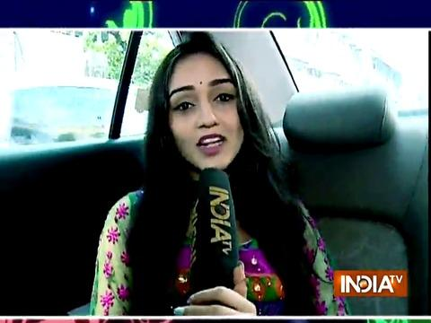 TV actress Tanya Sharma offers prayer to Maa Durga