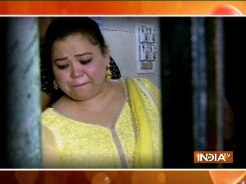 Bharti Singh had an emotional breakout at an old age home