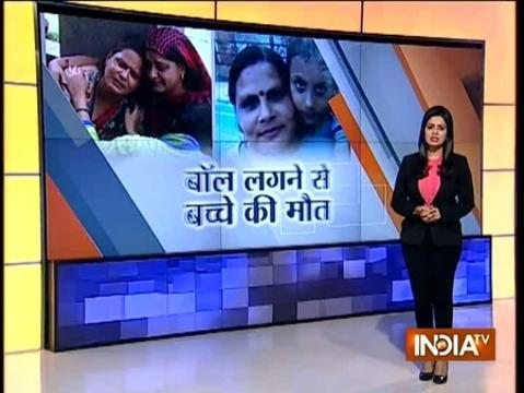 Caught on CCTV: 13-year-old child dies because of school negligence in Ghaziabad