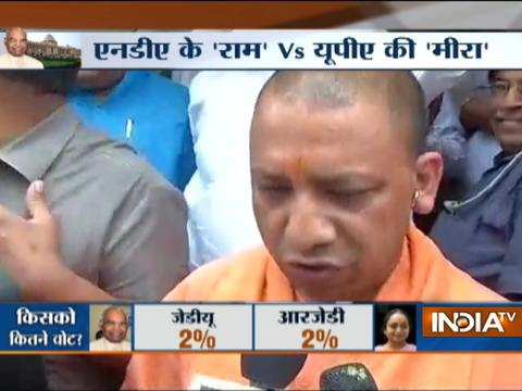 Presidential Election 2017: It's a proud moment for UP, says Yogi Adityanath