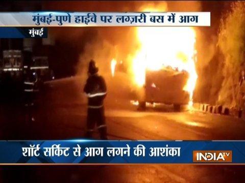 Major fire incidents occur in Mumbai, Pune