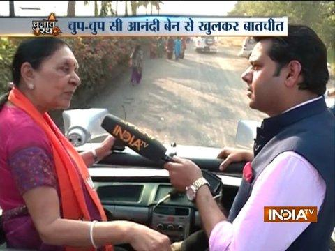 Leaders are like Sardar Patel and Gandhi ji, Hardik Patel's worth is not even a single penny: Anandiben Patel