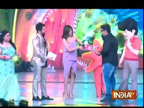 Kriti Sanon, Alia Bhatt, Varun Dhawan attend Nickelodeon Kids' Choice Awards 2017