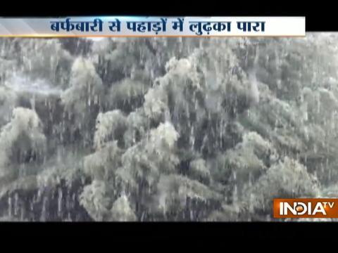Rain, light snow lashes Jammu and Kashmir and Himachal