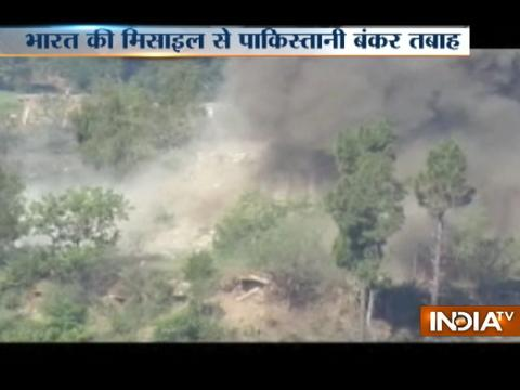 Indian army retaliates to Pak atrocities,7 bunkers debunked in 60 seconds