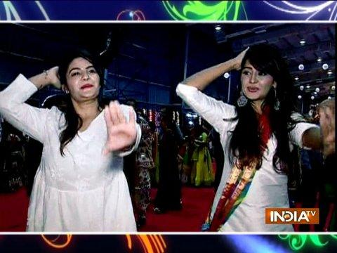 Kanchi aka Gayu from Yeh Rishta Kya Kehlata Hai enjoys Garba night in Mumbai