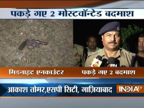 After encounter in Ghaziabad, criminals nabbed, cop hurt