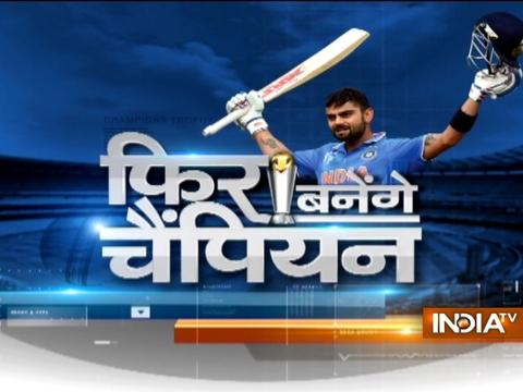 Champions Trophy 2017: Dhawan, Kohli steer India to semifinals
