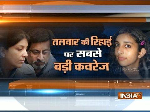 Rajesh and Nupur Talwar to be released around 5 pm today