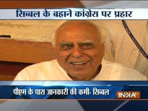 Kapil Sibal hits back at Modi, says not Sunni Waqf Board Lawyer, PM should check facts