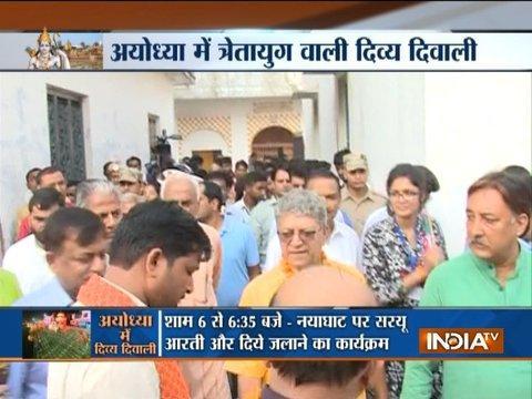 Yogi Adityanath govt's mega Diwali in Ayodhya