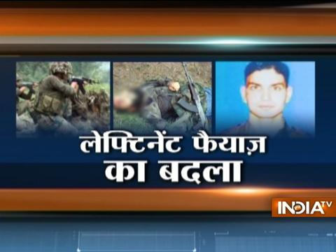 Indian army shot down Lashkar terrorist involved in the killing of martyr Umar Fayaz