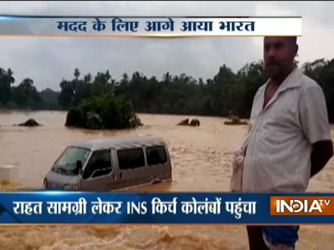 India Offers Help To Flood-Hit Sri Lanka