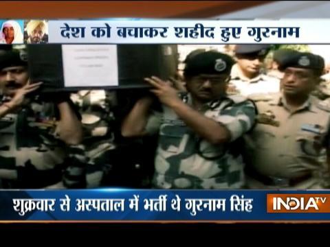 BSF jawan Gurnam Singh, injured in Pakistani firing, succumbs to his injuries