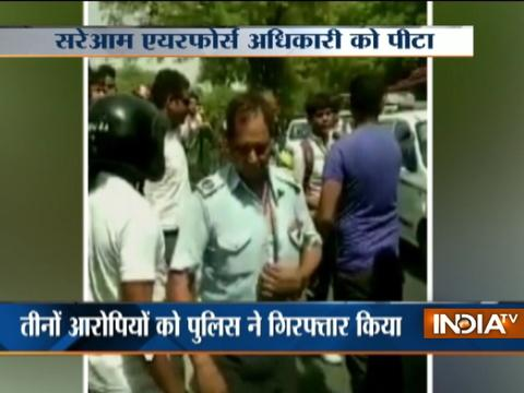 Road Rage Video: IAF officer assaulted in Delhis Sangam Vihar