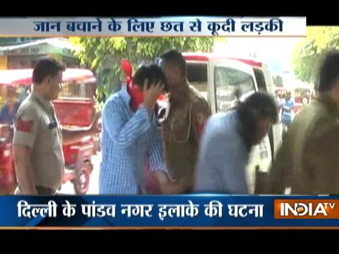 Woman gangraped by five in Delhi jumps from first floor to escape
