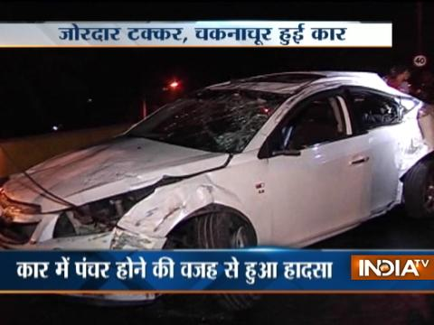 Mumbai: 3 critically injured in car mishap at Jogeshwari flyover