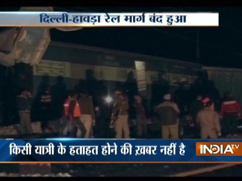 Kalindi Express derails near Tundla in Uttar Pradesh, no injuries