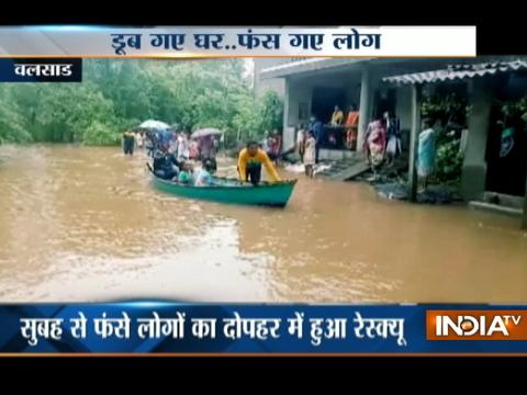 Gujrat: Heavy rains wreak havoc in Valsad, 80 rescued from flooded area