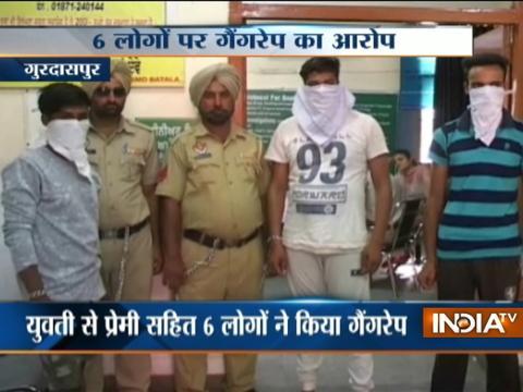 Gurdaspur: Girl gangraped by six,including boyfriend