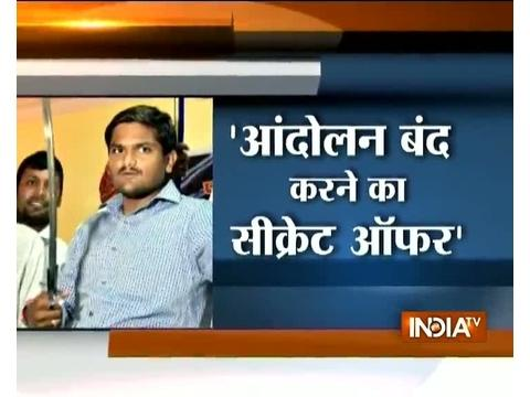 Was offered Rs 1,200 crore to withdraw Patel quota stir: Hardik Patel
