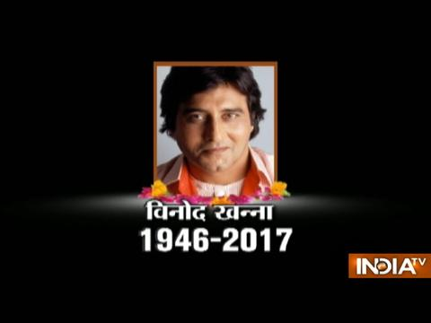 Vinod Khanna, actor and politician, passes away at 70 after prolonged illness