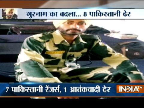 BSF jawan injured during ceasefire violation at LoC continues to be in serious