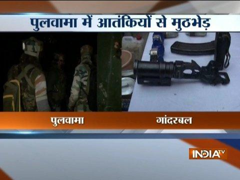 Encounter between militants, security forces in Pulwama district of Jammu and Kashmir