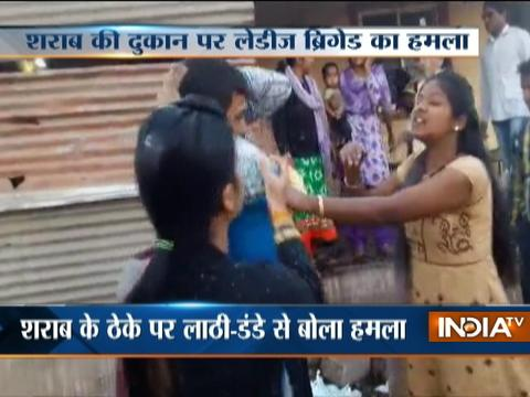 Women brigade cracks down over liquor factory operating in parts of Maharashtra