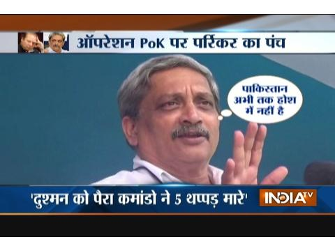 Post surgical strikes, Pakistan is behaving like anaesthetised patient: Manohar