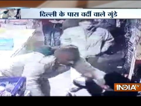 CCTV VIDEO: Watch Police brutality on restaurant owner in Ghaziabad