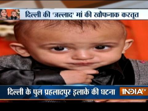 Delhi woman throws son down the stairs, booked