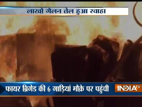 Madurai : Major Fire in edible oil godown