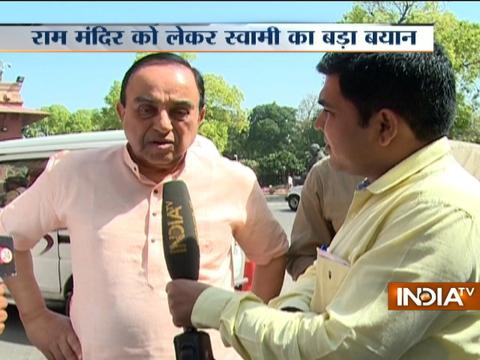 Will pass legislation if compromise is not reached: Swamy on Ram Mandir dispute