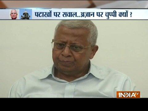 Tripura Governor Tathagata Roy compares firecracker noise with Azaan
