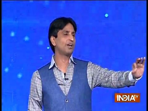 Vande Matram IndiaTV: Kumar Vishwas soulful poetry on martyrs