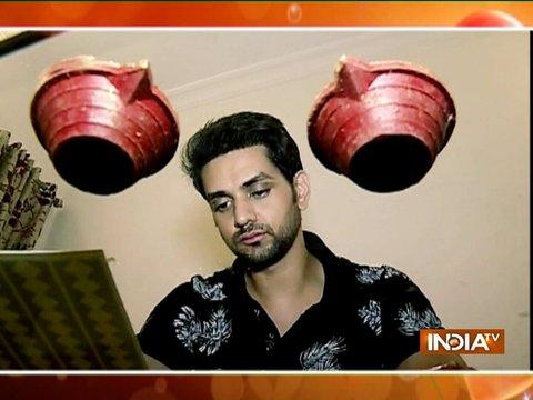 Shakti Arora decorates his house for Diwali