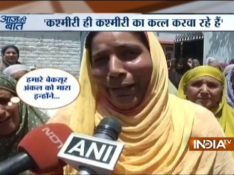 Watch why lynched Kashmiri officer Mohammed Ayub Pandith's niece said