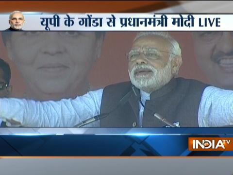 In UP, PM Modi invokes Lord Shiva; says people can detect truth using their